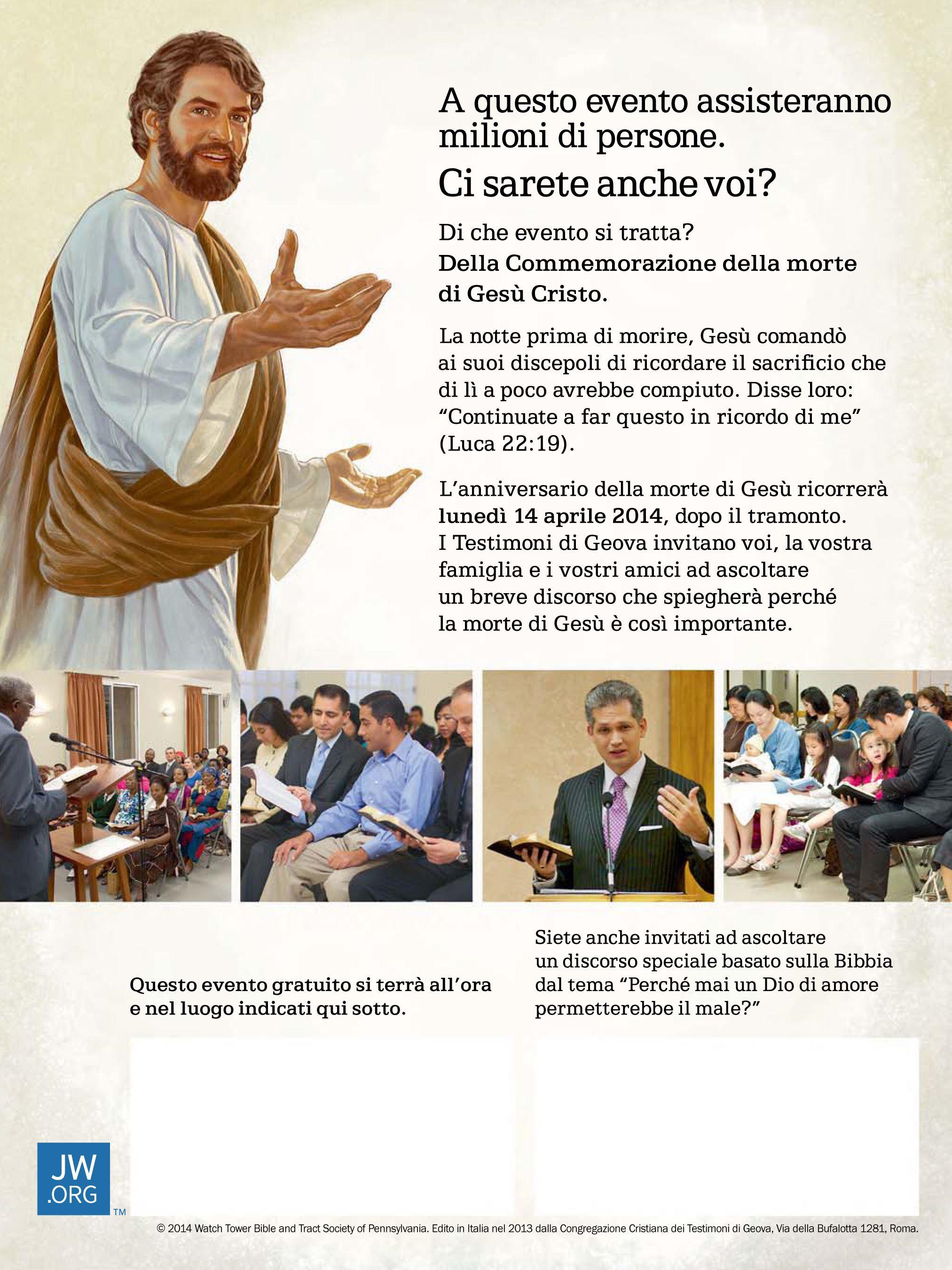 Geova testimone libero sito di incontri